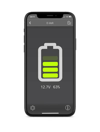E-Volt in E-Trailer app