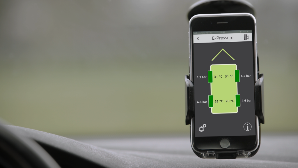 E-Pressure voor camper app