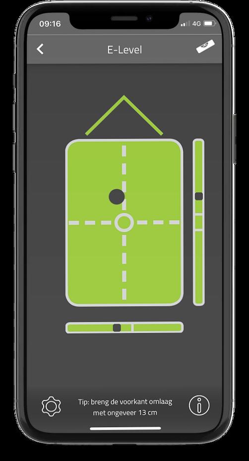 E-Level in E-Trailer app
