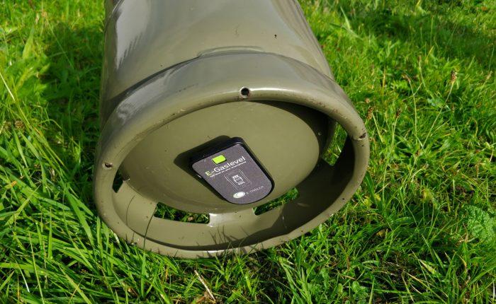 E-Gaslevel-module-onder-fles